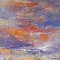 """5. """"Seascape"""" - oil on canvas 65x55cm, framed"""