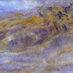 """1. """"Coastal"""" - oil on board 81.5x56cm, framed"""