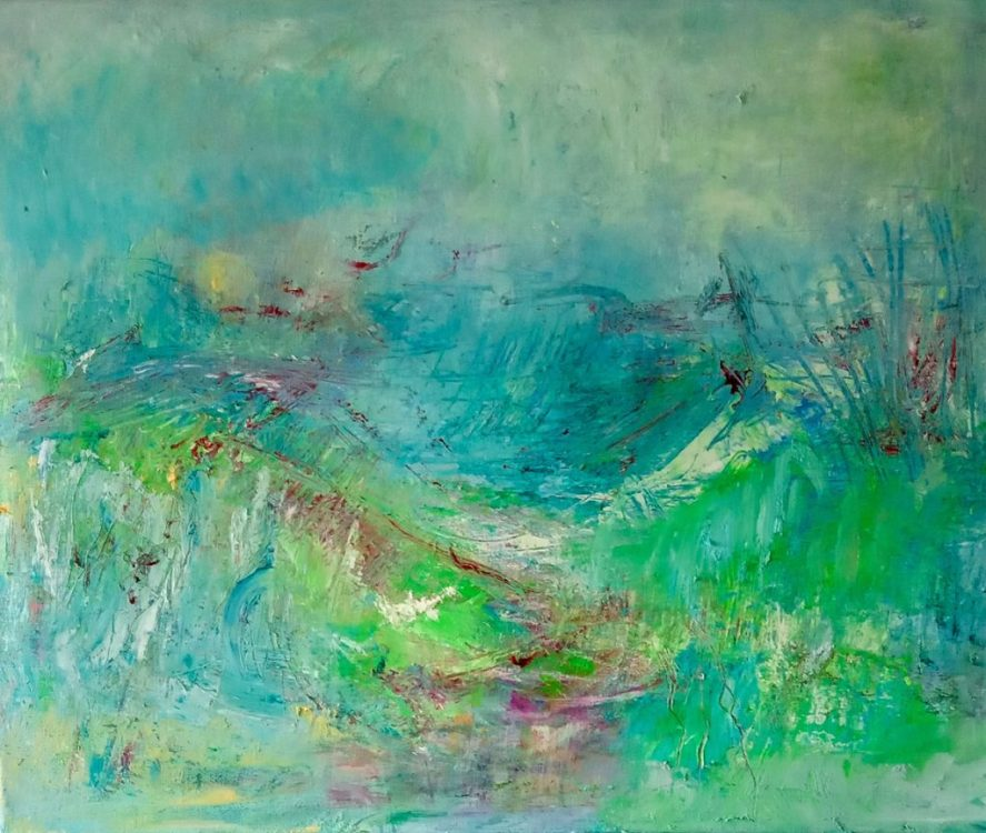 "40. ""Morning"" - Oil on canvas, 60x50cm"