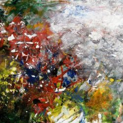 "18. ""Autumn"" - mixed media on paper, 86.5x66cm, framed"