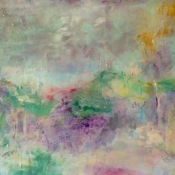 "31. ""Downs Landscape"" - Acrylic on canvas - 80x60cm"
