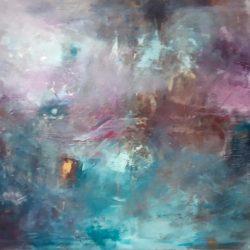 "33. ""Winter Night"" - Oil on Canvas - 76x61cm"