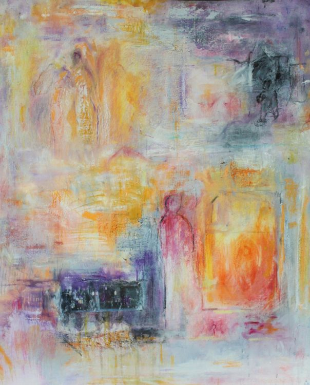 """49. """"After the War"""" - Oil on canvas (60x70.5cm)"""